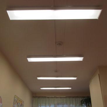 Производство и поставка светодиодных светильников в Северодвинский дом ребенка