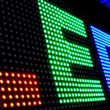 Производство световых рекламных вывесок