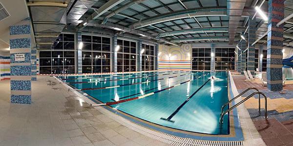 Светодиодное освещение спортивных бассейнов