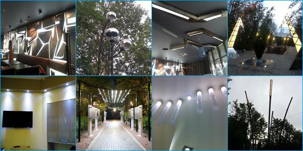 Светодиодное освещение для дизайнеров и архитекторов